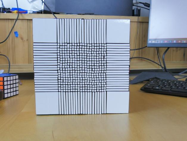 22x22 Rubik's Cube white Side