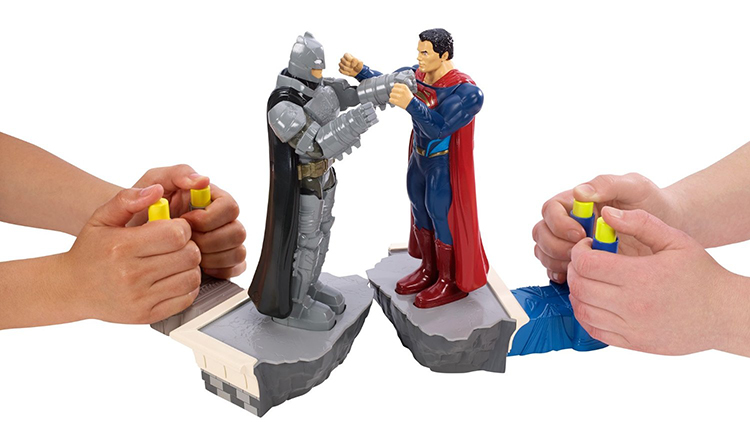 Batman v Superman Dawn of Justic Rock Em Sock Em Game