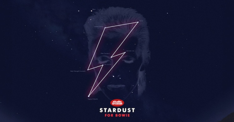 Bowie Constellation and Face