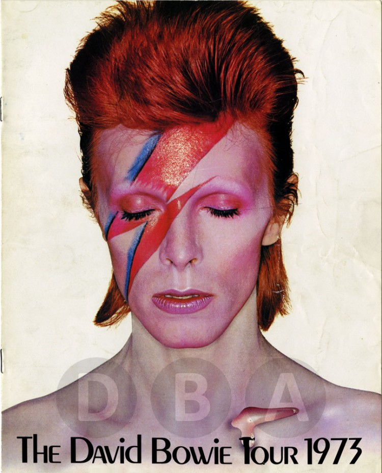 David Bowie as Aladdin Sane