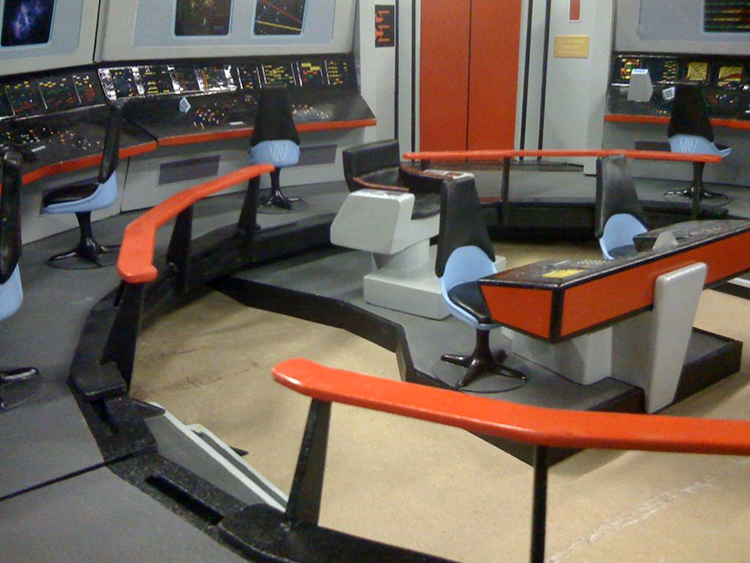 Star Trek Enterprise Bridge Playset
