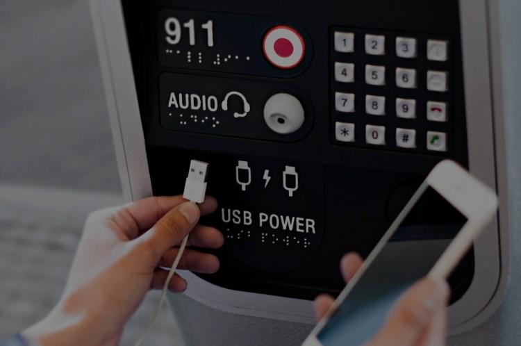 Link NYC USB Charging