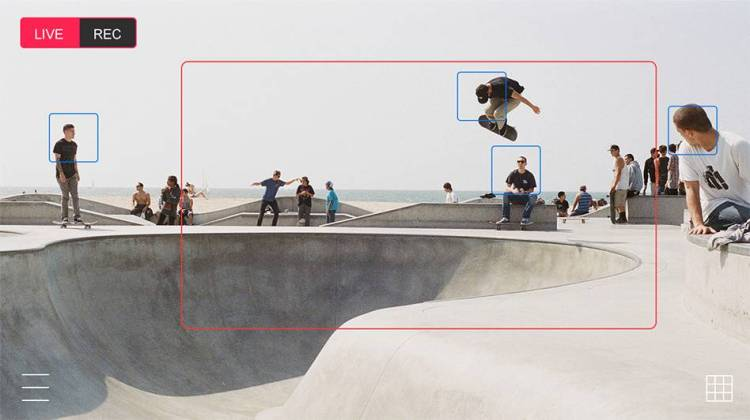Movi App Screen Skateboarders