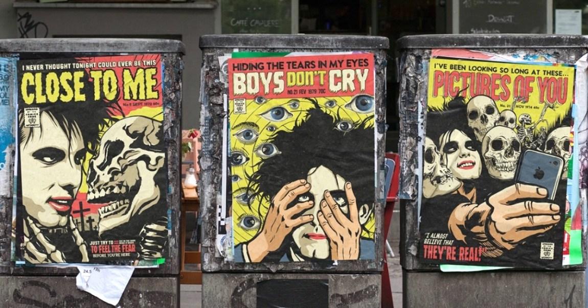 The Cure Horror Comics