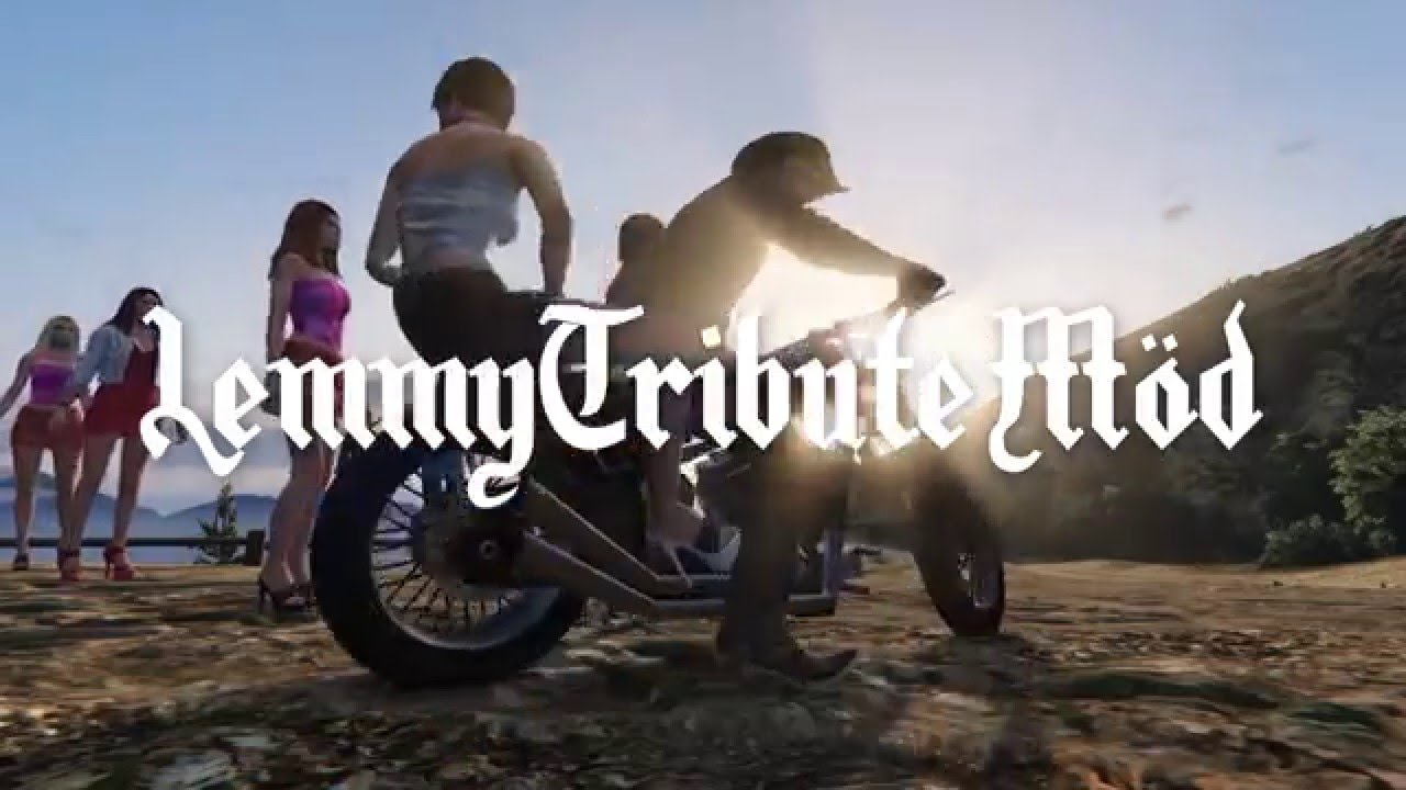 A Grand Theft Auto V Mod That Lets Gamers Play as Motörhead Frontman Lemmy Kilmister