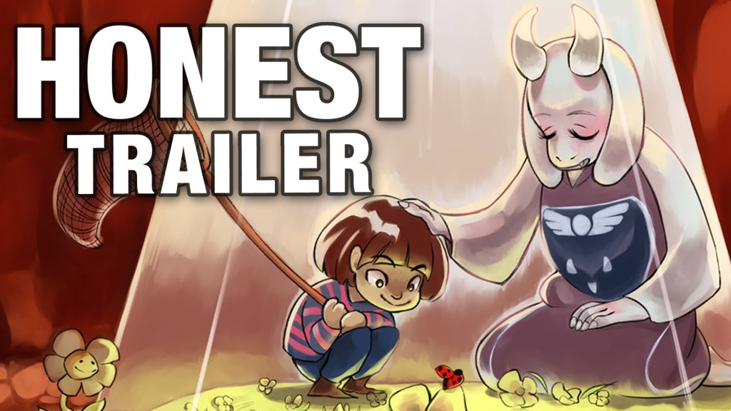 A Honest Video Game Trailer for Undertale