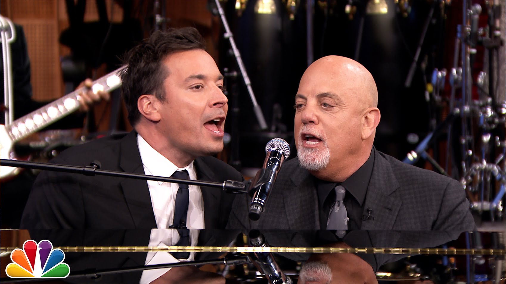 Billy Joel & Jimmy Fallon Perform a Cover of The Rolling Stones Song ...