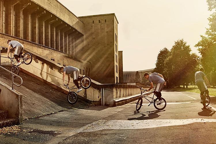 BMX Meets Parkour