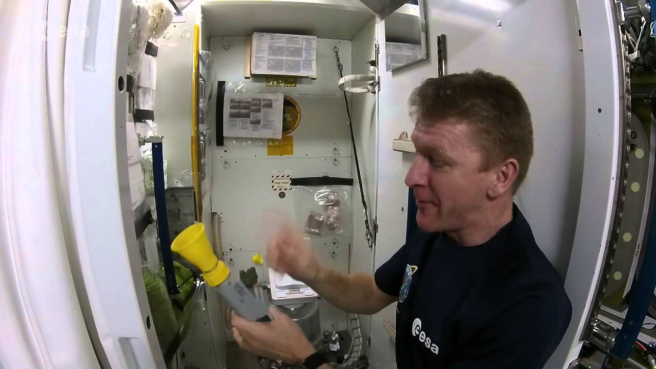 astronauts pee toilet - photo #1