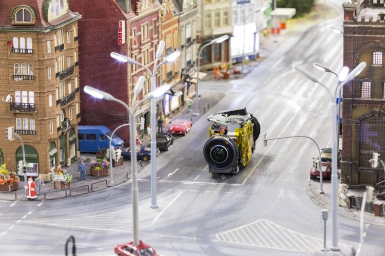 miniatur wunderland google camera car