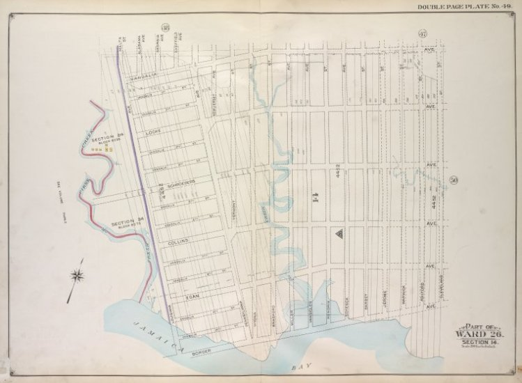 Brooklyn, Vol. 1, 2nd Part, Double Page Plate No. 49;