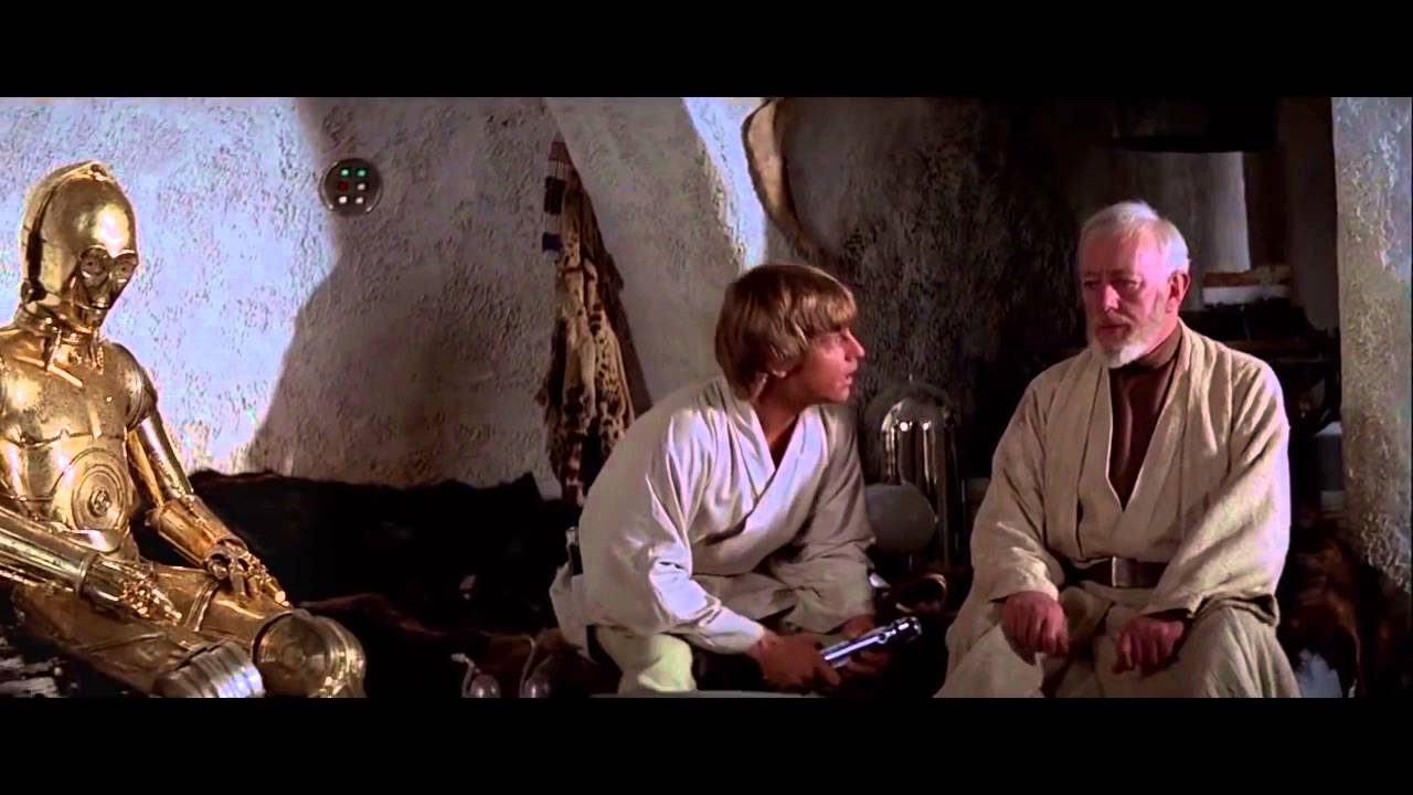 Obi-Wan Remembers the Painful Truth About Luke's Father With Footage From the Star Wars Prequels