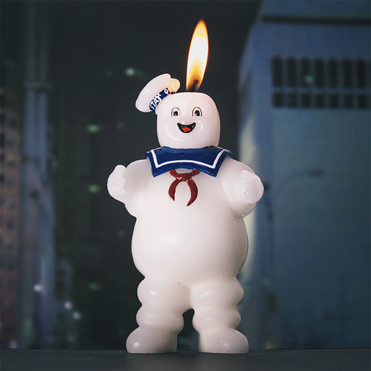 Stay Puft Candle