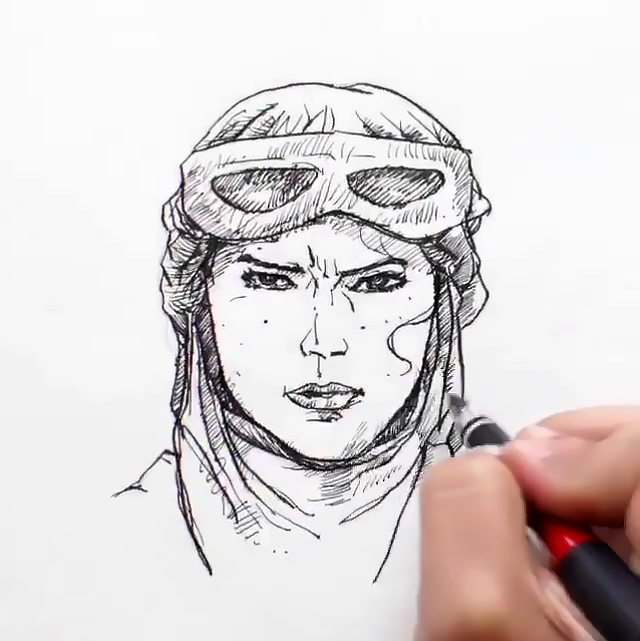 Force Character Design From Life Drawing Ebook : Drawings of star wars the force awakens characters come