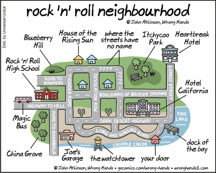 rock 'n' roll neighbourhood