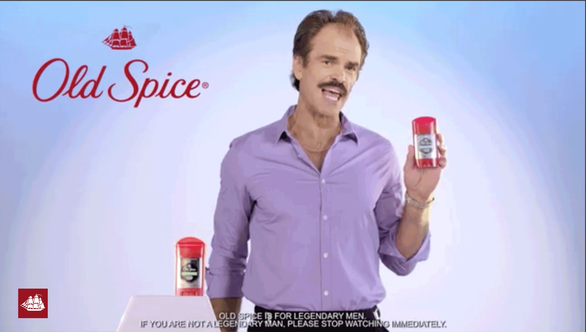 Steven Ogg (Trevor From GTA V) Demonstrates Old Spice's Odor