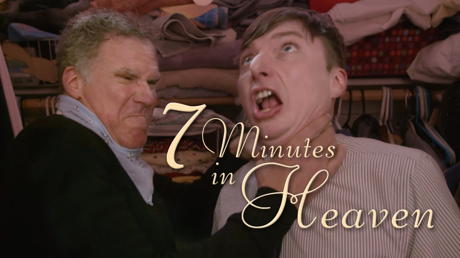 Will Ferrell Joins Mike OBrien In His Closet For Seven Minutes Heaven To Talk Improv Play Games