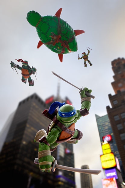Ninja Turtles in NYC