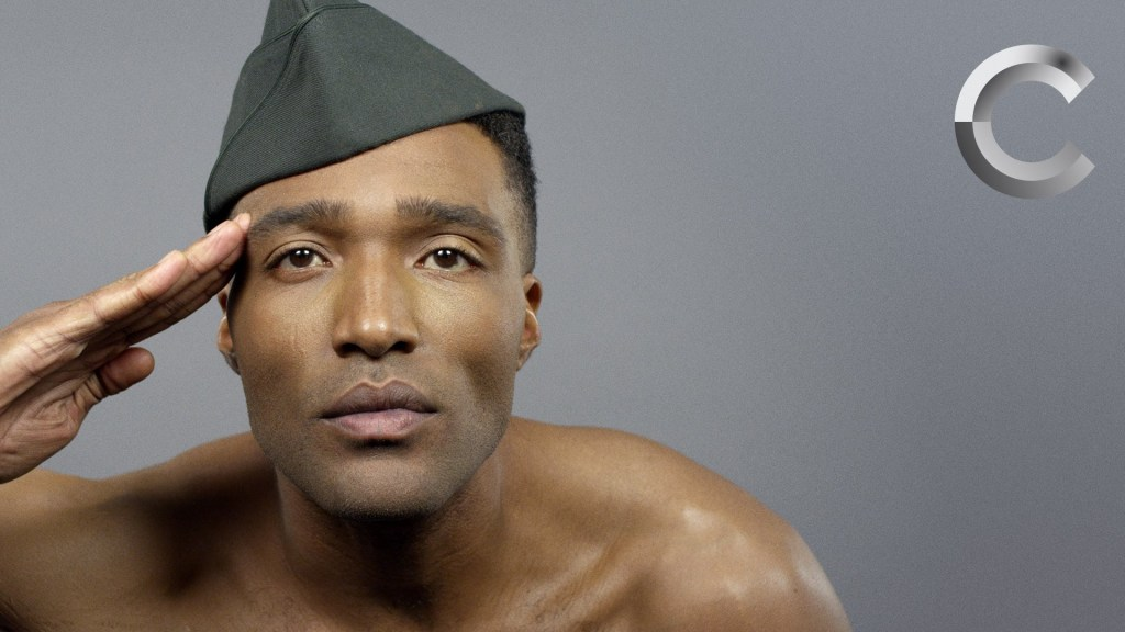 100 Years of Male Beauty in the USA Shown Decade by Decade in a One Minute Time Lapse