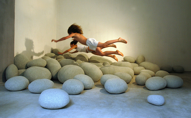 Floor Pillows Stones : A Collection of Hyper-Realistic Wool Pillows, Chairs & Floor Cushions That Look Like Oversized ...