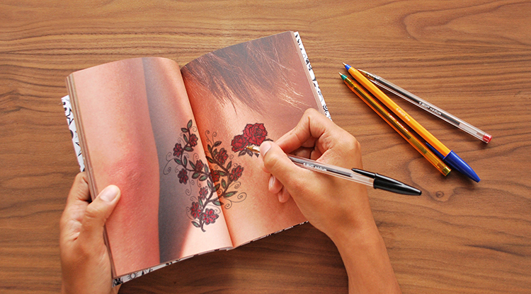 Tattoo Art Drawing Notebook