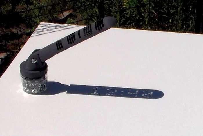 3D Printed Sundial 1240