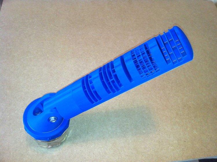 3D Printed Sundial Blue