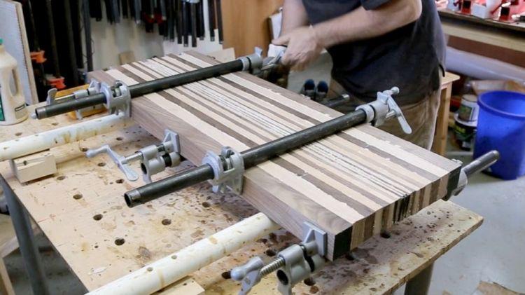 3d end grain cutting board plans. 3d end grain cutting board #1 3d plans n