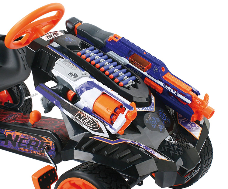 nerf drone with The Nerf Battle Racer By Hauck Toys Is A Pedal Powered Go Kart That Stores Nerf Weaponry on Paintball 20Airsoft 20Turret 20Kit2 in addition MLB 688420051 Nerf N Strike Elite Rapidstrike Cs 18 Blaster  JM additionally Watch additionally An old mute draw x further 53590831.