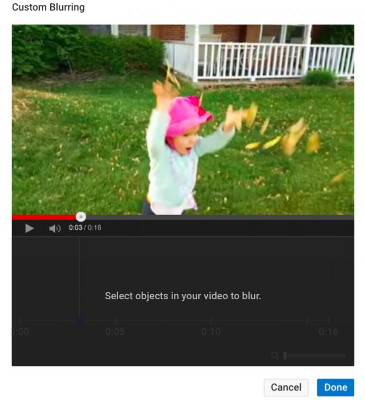 Custom Blurring Screenshot