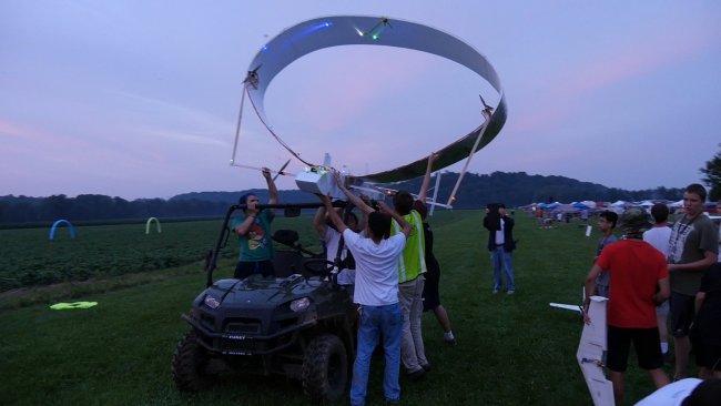 Launching the Super Circle Plane