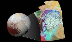Map of Pluto's Left Heart