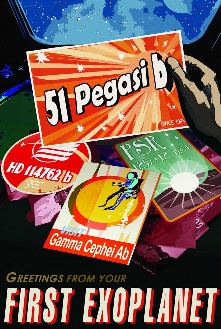 NASA Travel 51 Pegasi b Poster