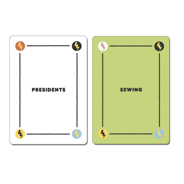 Punderdome Single Word Cards