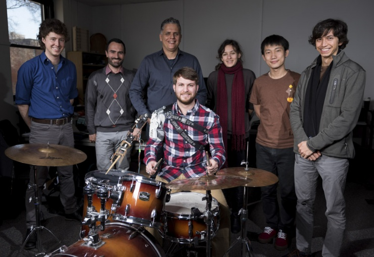 Robotic Drummer Arm Research Team