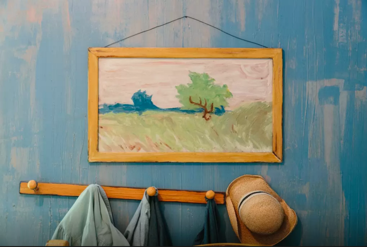 Van Gogh\'s Iconic Painting \'Bedroom in Arles\' Physically Recreated ...