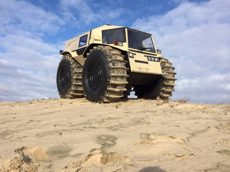 Sherp ATV Proudly on Sand