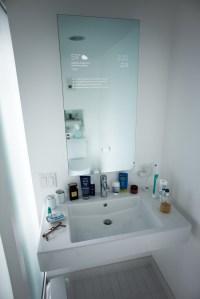 Smart Mirror Over Sink
