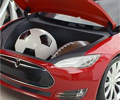 Tesla for Kids Frunk