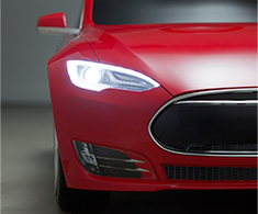 Tesla for Kids Headlights