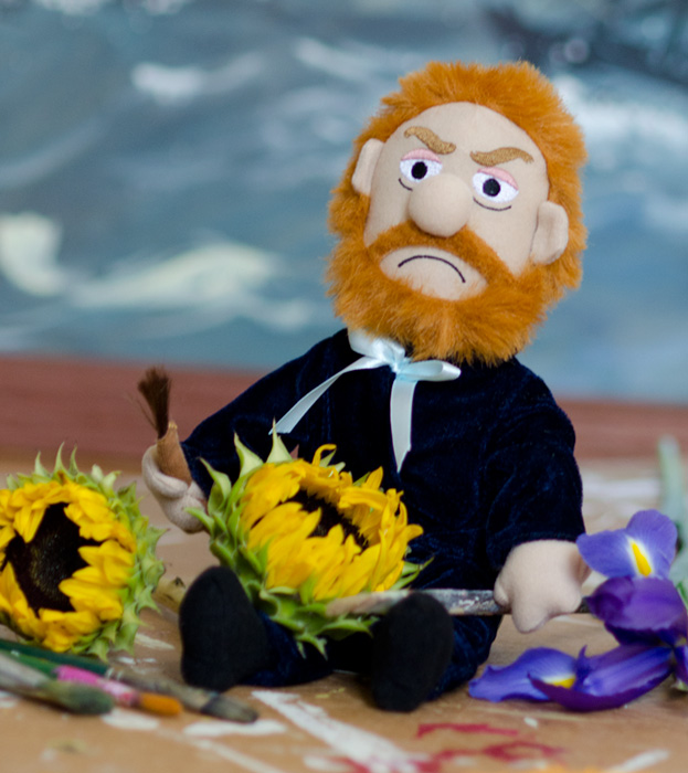 Van Gogh in Flowers