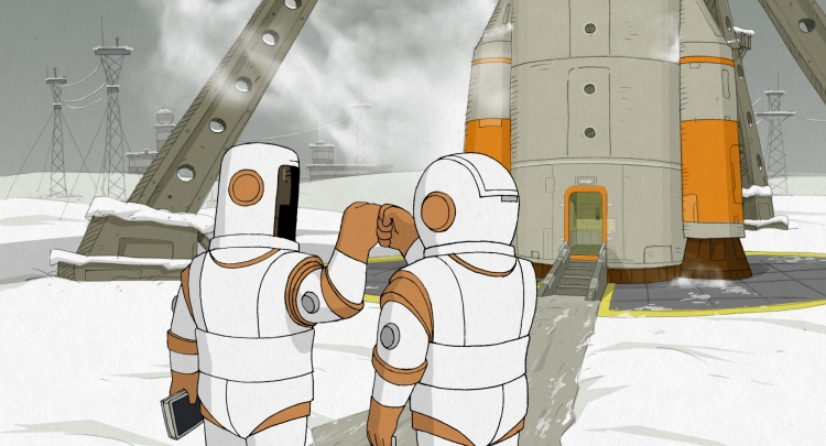 We Can't Live Without Cosmos Friends Fist Bump
