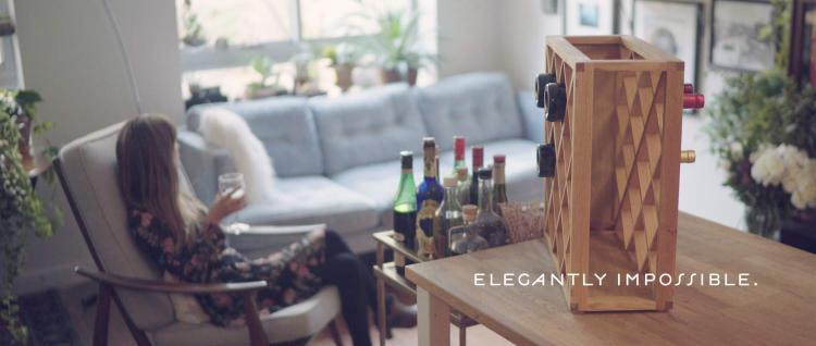 Wine Rack End