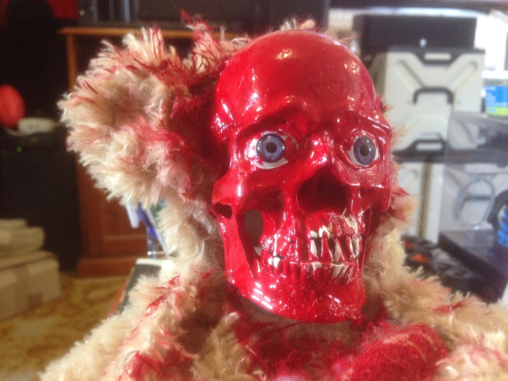 A Cute Teddy Bear Rips Its Face Off While Playing a Horrifying Game of Peek-A-Boo