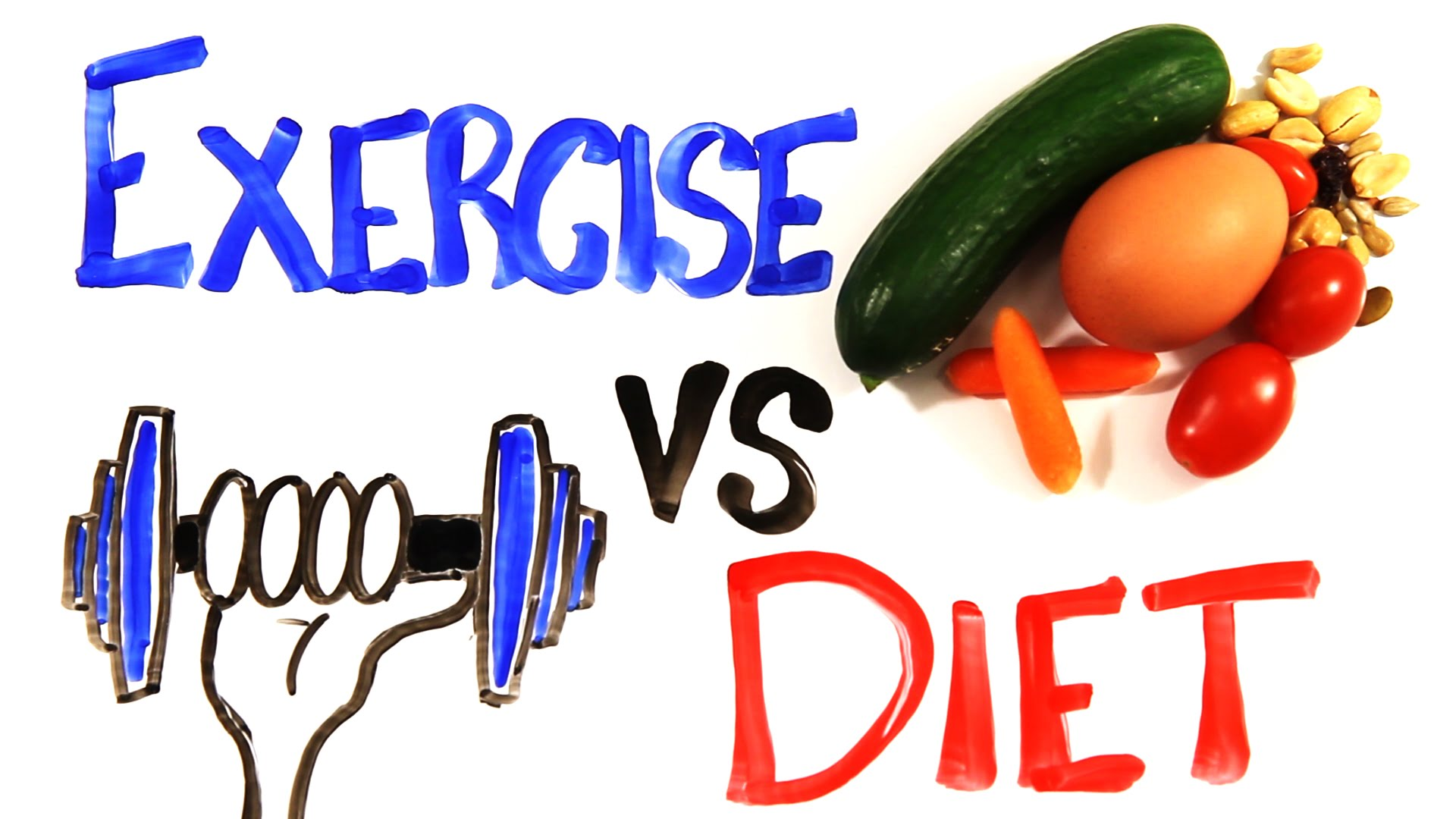 A Logical Explanation Why Diet Plays a Bigger Role Than Exercise in Order to Lose Weight