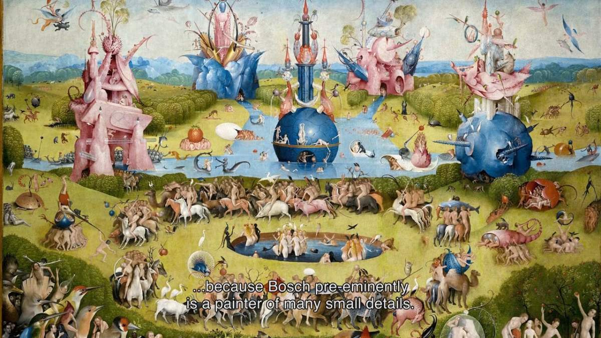 An Interactive Online Tour Through the Hieronymus Bosch Masterpiece 'The Garden of Earthly Delights'