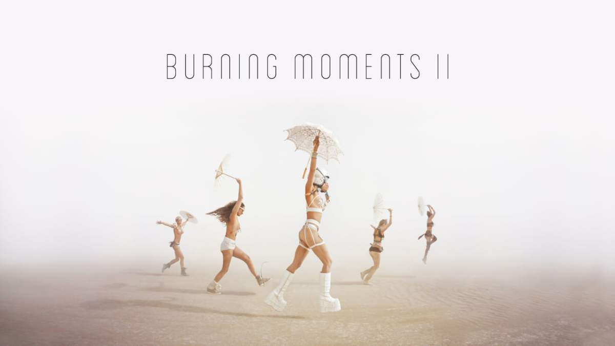 Burning Moments II, Digitally Animated Photos of the Amazing Sights Found at Burning Man 2015