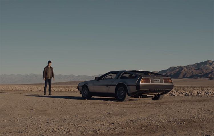 Lucky Coin, The DeLorean Motor Company's New Commercial for Their 2017 DMC-12 Replica Automobiles