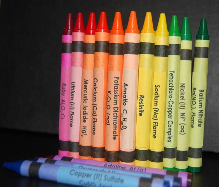 Element Crayons