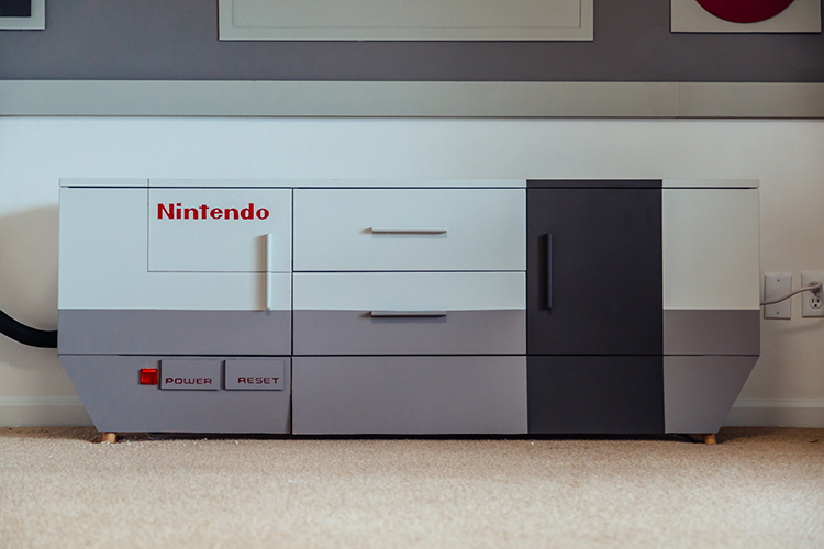 NES Game Room